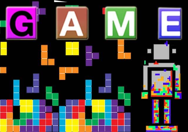 Canvas Tetris game